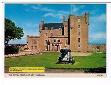 Postcard: The Royal Castle of Mey, Caithness, Scotland