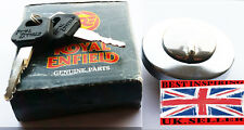 Royal Enfield Fuel Tank Filler Lock Cap Chrome With 2 Key BULLET PARTS # 597128