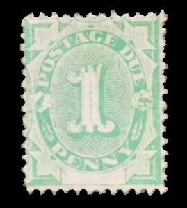 SGD2 - 1902 1d Penny Emerald-green Postage Due Mint Unhinged Stamp - 378a
