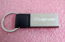 Genuine Snap On Tools Leatherr Key Tag Key Chain Keychain - NICE & Brand NEW
