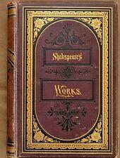 1876 Complete Works of William Shakspeare Illustrated