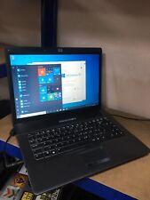 CHEAP HP 550 LAPTOP 15.4 SCREEN 2GB RAM WIN 10   150 HDD WIFI DVD/RW