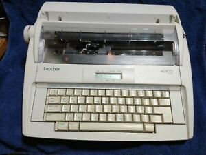 Brother ML 300 Standard Electric Typewriter TESTED WORKS GREAT