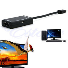 New MHL Micro USB to HDMI A A/V TV Adapter HDTV Short Cable for SamSung Sony