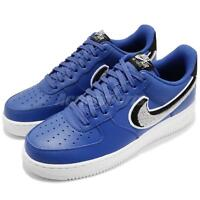 3fb9f0ece3a80 Nike Air Force 1 07 LV8 AF1 Game Royal Grey Black Men Casual Shoes 823511-