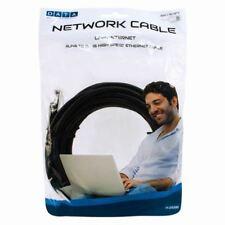5M/16TF Cavo di rete Cat-6 LAN Ethernet RJ45 Patch Lead ad alta velocità Cavo Nero