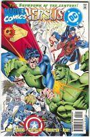 Marvel Versus DC 3 1996 NM+ 9.6 Wolverine Batman X-Men Superman Spider-Man