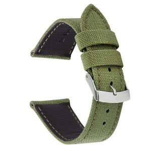 VintageTime Watch Straps - Genuine Cordura Fabric Military Replacement Band