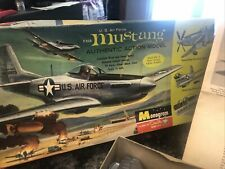 Vintage 1962 Us Air Force F-51D Mustang Authentic Action Model Original See Pics