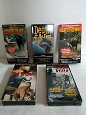 Nitro Express & Mark Sullivan Presents Hunting Videos On Vhs. Lot Of 5