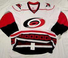 CAROLINA HURRICANES size 58+ Reebok EDGE Authentic Pro Hockey Jersey 2.0 cdn whi