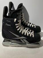 Reebok Fitlite Hockey Skates Youth Size 5 D Black Silver