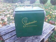 Vintage Snackmaster Cooler, Soda Cooler, Beer Cooler, Vintage Picnic Cooler