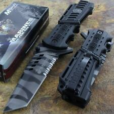 MTECH US Marines TANTO BLADE Tactical Survival Rescue Knife Glass Breaker NEW!