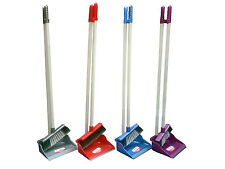 Eco Long Handle Handled Dustpan & Brush Set Sweeper Cleaner - Dust Pan And Brush