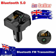 Bluetooth Car Kit MP3 Player FM Transmitter Audio USB Charger For iPhone Samsung