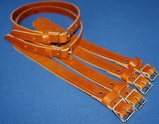 Hand Made Coach Built Vintage Pram Suspension Balance Straps Tan Leather FreeP+P