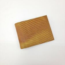 Genuine Leather Brown Bifold Credit Card/ID Wallet Handmade in India 01