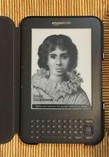 Ebook Amazon Kindle 3, libro electrónico
