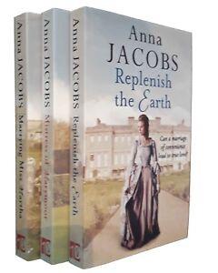 Anna Jacobs 3 Books Historical Romance Family Saga Marrying Miss Martha New