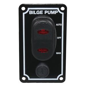 12V Marine Bilge Pump Waterproof Switch Panel Boat Chandlery / Yacht