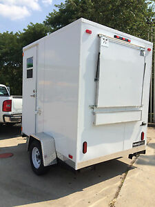 FOOD CONCESSION TRAILER 6' x 8' START YOUR NEW BUSINESS, $9400.00