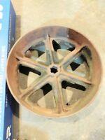 International Farmall McCormick Deering 10-20 Belt Pulley Wheel PTO flat belt IH