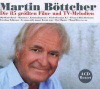 """MARTIN BÖTTCHER """"DIE 85 GRÖßTEN FILM-UND TV-MELODIEN"""" 4 CD NEU"""
