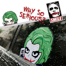 Joker Face Car Stickers Why So Serious Red Decal Blood Vinyl Motorcycle Decor