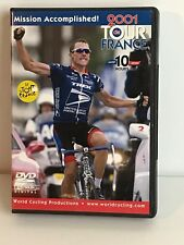 2001 Tour de France World Cycling Productions 5 Dvds Lance Armstrong