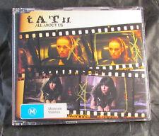 Tatu - All About Us - CD Single - Australia