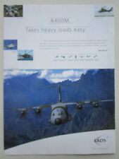 4/2003 PUB EADS AIRBUS MILITARY A400M EUROCOPTER TIGRE NH90 EUROFIGHTER AD