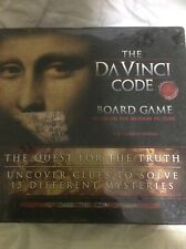 RoseArt Columbia Pictures 2006 DAVINCI CODE Board Game For 2-6 Adult Players~NIB