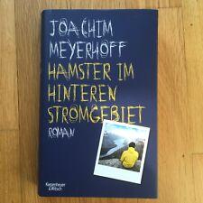 Joachim Meyerhoff, Hamster im hinteren Stromgebiet Gebunden mit Schutzumschlag