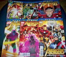 AVENGERS The Heroic Age #1 2 3 4 5 6 MARVEL COMICS Thor CAP Spidey ROMITA NM