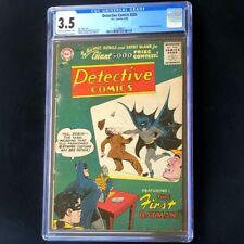 DETECTIVE COMICS #235 (DC 1956) 💥 CGC 3.5 💥 Origin of Batman & Costume! Comic