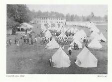 """Kentucky Postkarte """" Camp Boone 1860 / Konföderierte Einheiten / (9-KY)"""