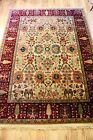 """Karastan Samovar Teawash Persian Vase 4'3""""x6' 100% Wool Area Rug Carpet Exc"""