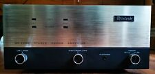 Vintage Mcintosh MC2200 Stereo Power Amplifier (Serviced & Recapped)