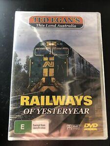 Ted Egan's This Land Australia Railways Of Yesteryear DVD Zig Zag Railway Puffi