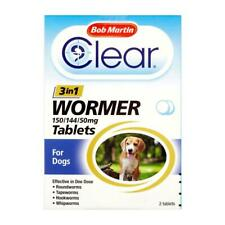 Bob Martin Clear 3 in 1 Wormer for Dogs | Dogs | Worm Control