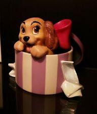 "Disney ""A Perfect Beautiful Little Lady"" Lady And The Tramp Figurine Mint Coa"