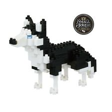 Nanoblock SIBERIAN HUSKY - NBC-264, Level 3, 190 Pieces, NEW