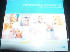 Britney Spears I'm Not A Girl Not Yet A Woman Rare EU CD Single - Like New