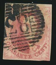 Belgien Nr. 9 II gestempelt (49800)