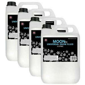 MoonFx Universal Snow Fluid 20 Litres Ready to use - works in all machines 4x5L
