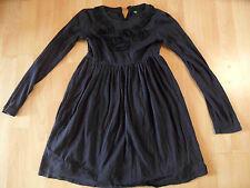BENETTON schönes Jerseykleid m. Rüschenkringeln blau Gr. 128? TOP BI216