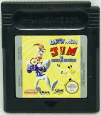 Nintendo Gameboy Color: Earth Worm Jim Menace 2 The Galaxy