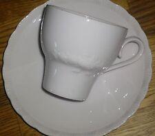 1 Kaffeetasse + Untertasse    Hutschenreuther   PORCELAINE ROSE