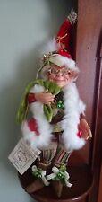 Mark Roberts Limited Edition Kringle Jingle Elf Small  100 of 500  NWOB